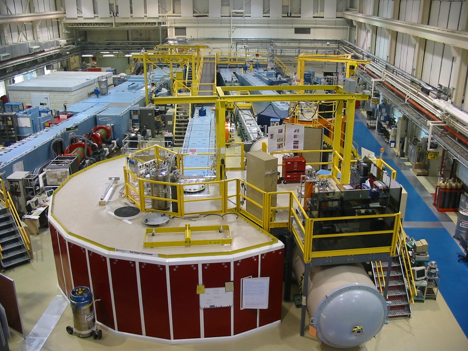 disk chopper time of flight spectrometer dcs